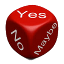 cube yes no maybe 64